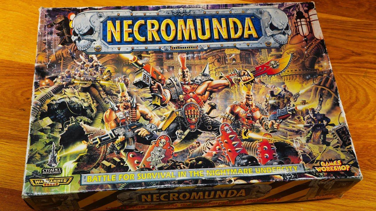 Retro Unboxing: 1995 Necromunda