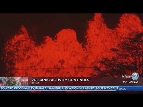 New explosive eruption at summit of Kilauea Tuesday morning