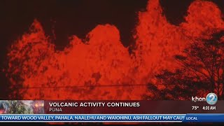 New explosive eruption at summit of Kilauea Tuesday morning