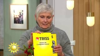 Viveka har namnsdag - och vinner Triss - Nyhetsmorgon (TV4)