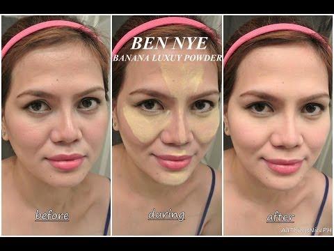 how to use ben nye neutral set translucent powder