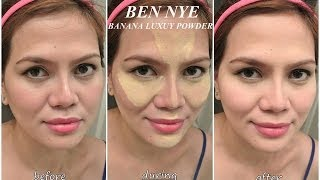 How To/ Demo/ Review Ben Nye Banana Luxury Powder(3 Ways)