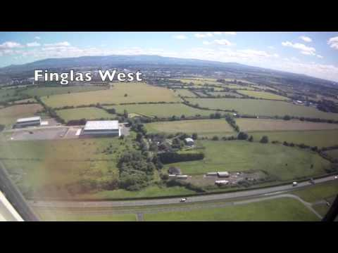 Taxi & Take-off from Dublin Airport, Collinstown, Fingal County, Ireland - 18th July, 2016