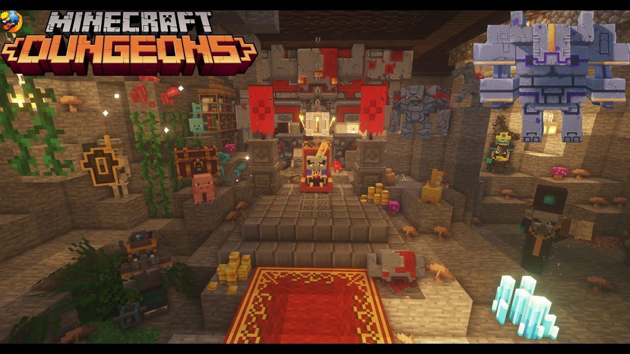 Minecraft Dungeons para Minecraft mod 1 12 2 Dungeons mobs