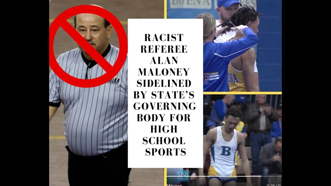 ef56e0db4df Follow-Up Ref Alan Maloney Who Forced High School Wrestler Andrew Johnson  To Cut Hair Sidelined