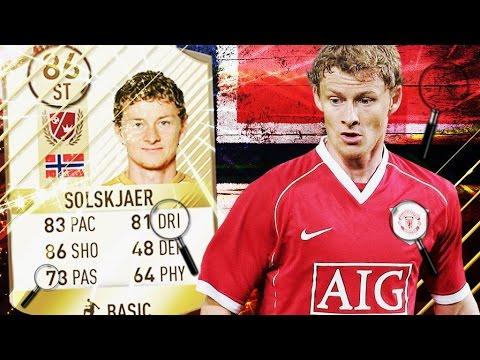Fifa 17 Ole Solskjaer Review New Legend Ultimate Team