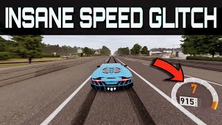 Driving over 900km/h !! | Forza Motorsport 7 | Insane NEW Topspeed Glitch!!