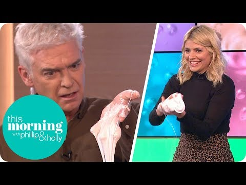 Holly Is Delighted to Learn How to Make Slime   This Morning