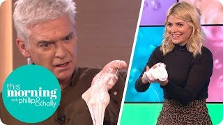 Holly Is Delighted to Learn How to Make Slime | This Morning