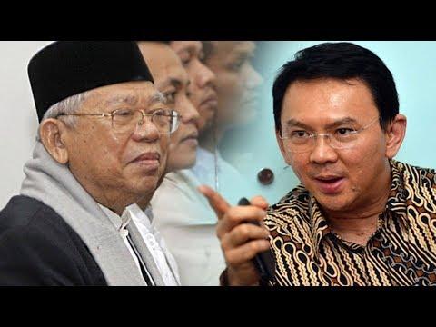 Cerita KH Ma'ruf Amin Diancam Ahok Hingga Presiden Jokowi Harus Turun Tangan