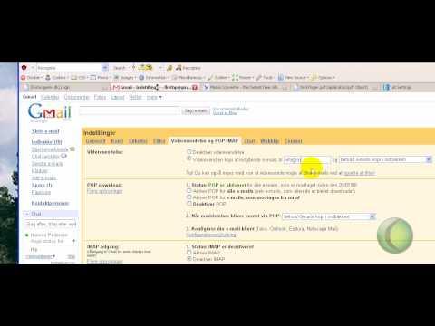 Mailvideresendelse af Gmail email