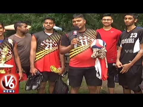 New York Kerala Spikers Won NATA's Volleyball Championship | V6 USA NRI News