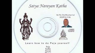 Satya Narayan Katha Puja By Pandit Brij Bhushan Lal