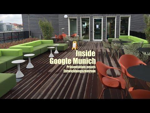 Inside Google Munich: neues Entwicklungszentrum München / new development center Munich