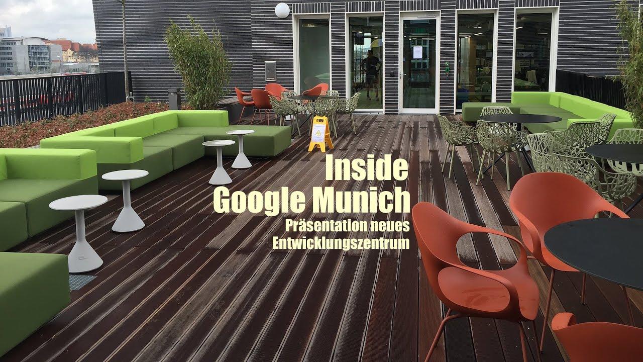 google office munich. Inside Google Munich: Neues Entwicklungszentrum München / New Development Center Munich Office N