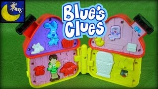 Nick Jr Blues Clues and Steve House Game Toy from 2001