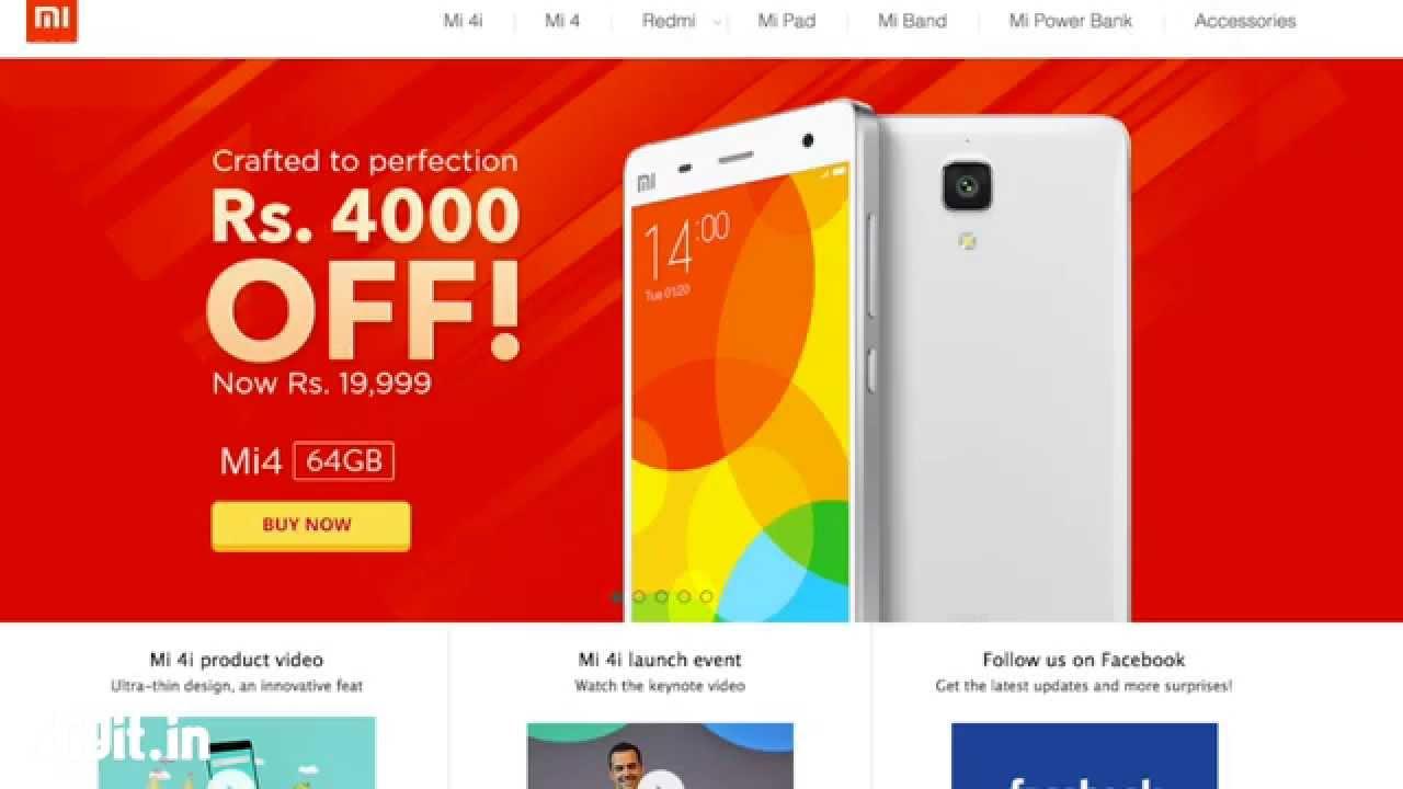 Xiaomi cuts Mi 4 (64GB) price to Rs  19,999