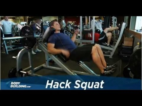 Hack Squat - Leg Exercise - Bodybuilding.com