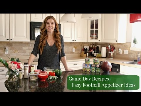 Game Day Recipes - Easy Football Party Appetizer Ideas