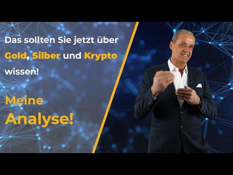 Das sollten Sie jetzt über Gold, Silber und Kryptowährungen wissen - Meine Analyse! | Florian Homm