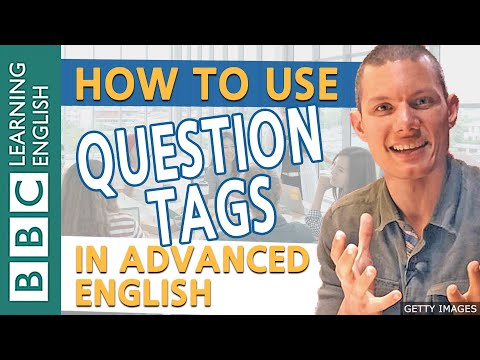 BBC Masterclass: Question tags