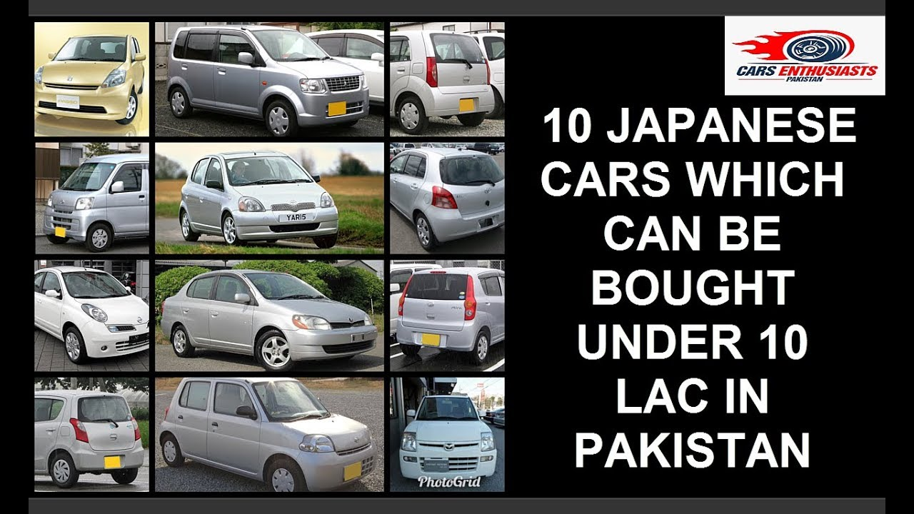 10 Japanese Cars Under 10 Lac In Pakistan Best Used Japanese Cars