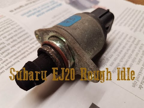 Subaru Legacy - Rough idle EJ20 engine - Idle Air Control Valve - IACV cleaning