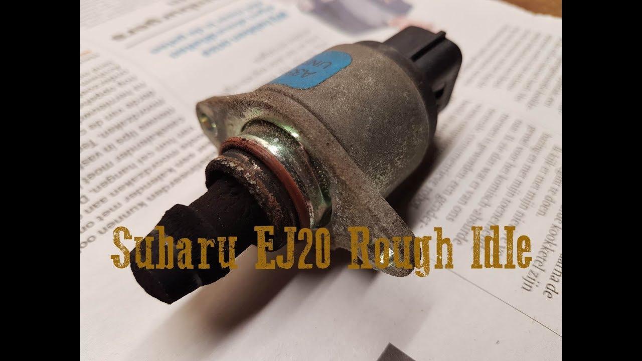 Subaru Legacy - Rough idle EJ20 engine - Idle Air Control Valve - IACV  cleaning