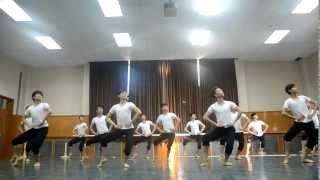 2012 Beijing Dance Academy Chinese Folk Dance Exam part 1 (Boys Dai Dance)