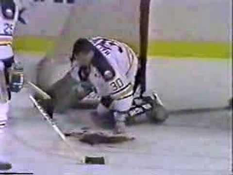 Clint Malarchuk Neck Injury Full Video- 1 of 3