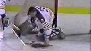 Clint Malarchuk Neck Injury Full Video- 1 of 3