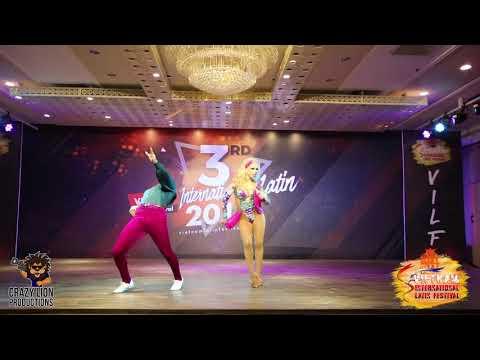 Adrian & Anita - Show @Vietnam Latin Festival
