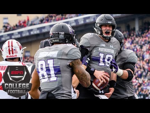 Northwestern defeats No. 20 Wisconsin in Big Ten showdown 31-17 | College Football Highlights