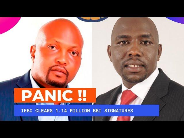 Panic Grips William Ruto Camp as IEBC Submits Uhuru - Raila BBI Bill to County assemblies | Kenya