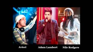 avicii feat adam lambert and nile rodgers lay me down live audio