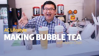 How to Make Bubble Tea (Boba) with Teaever in Downtown Vancouver | AC Lifestyle