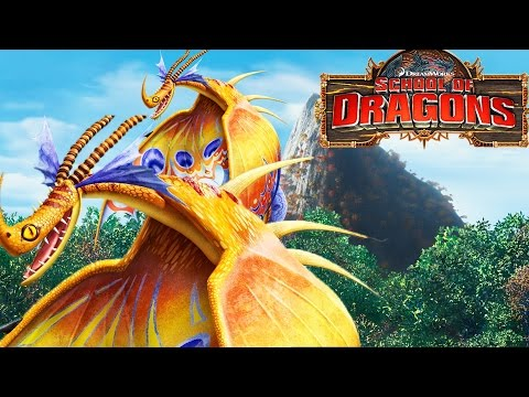 School of Dragons - How To Train Your Dragon - Death Song Island!