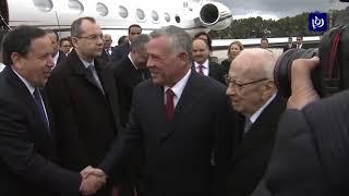 جلالة الملك والرئيس التونسي يؤكدان أهمية تعزيز العلاقات بين البلدين - (3-2-2019)