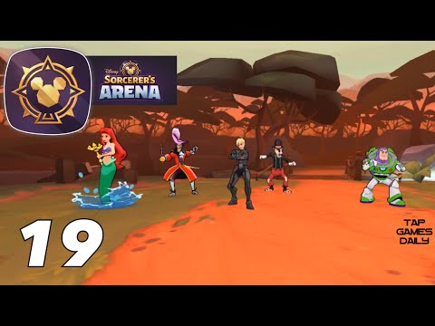 Disney Sorcerer's Arena Gameplay Walkthrough Part 19 - IOS   ANDROID
