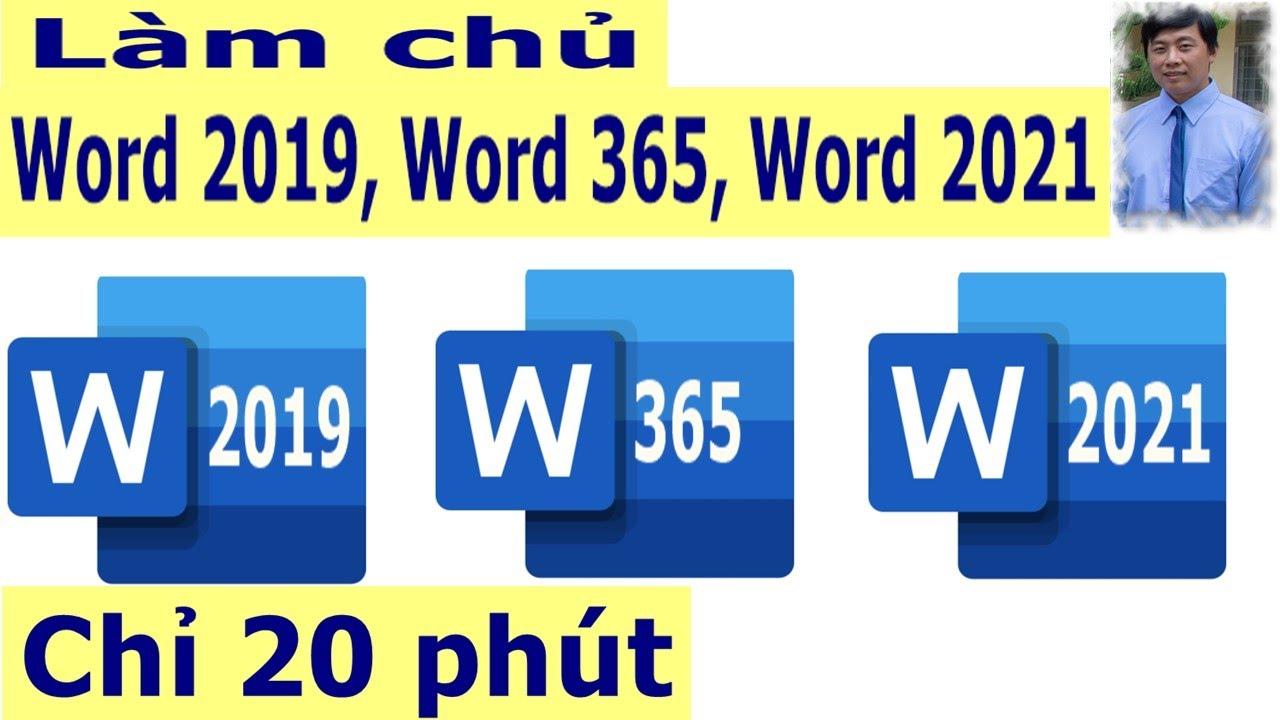 ✅ Hướng dẫn soạn thảo văn bản với Word 2019