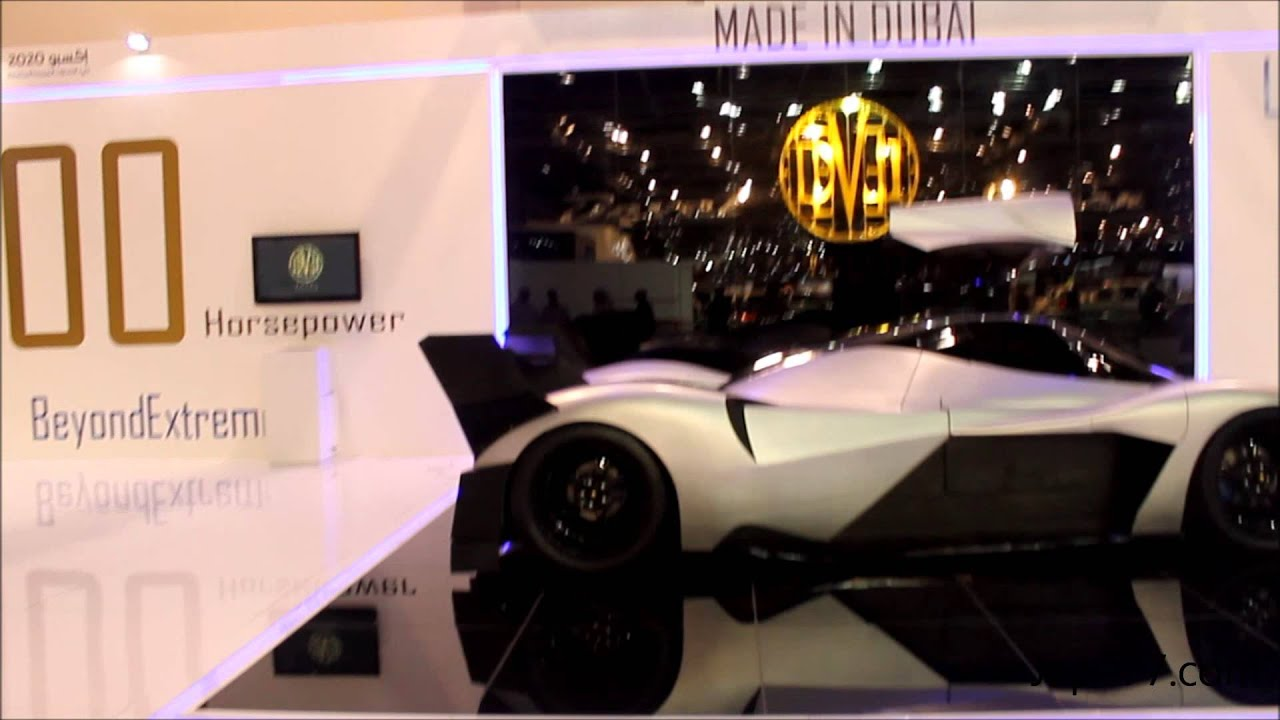 Devil Sixteen 5000hp Made In Dubai Dubai Motor Show 2013