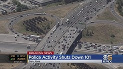 Man Dies After Jumping Off Highway 101 Overpass In San Jose