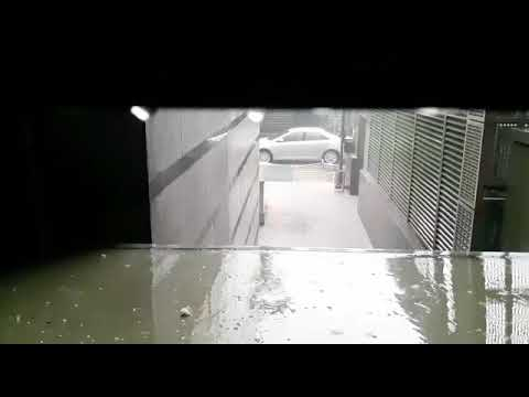 Hujan es Jakarta di grand Indonesia tgl 22 november 2018