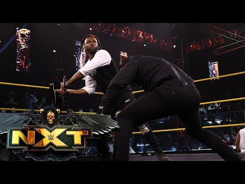 """Hit Row crashes Legado del Fantasma's """"Mariachi Madness Musical"""": WWE NXT, July 20, 2021"""
