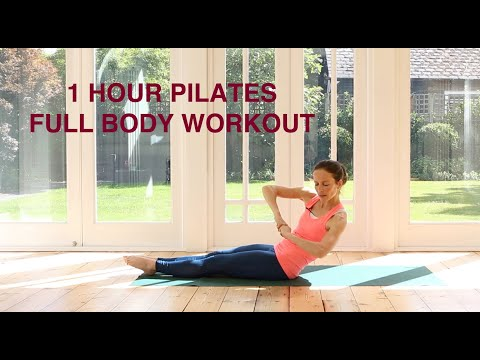 1 Hour Pilates Full Body Workout / Full Length At Home Practice