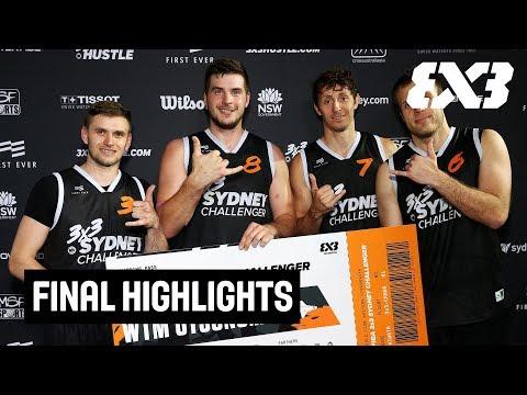 Piran v Melbourne - Final Highlights - FIBA 3x3 Sydney Challenger 2018