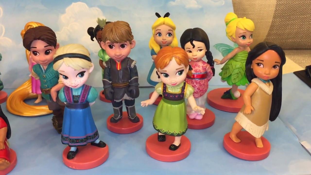 Disney Animators/' Collection Mega Figurine Set Of 20 Figurines New in Box