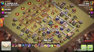 Elite War👉👍 Ground Troop Impossible Skill Destroy Different Base Th11 max CoC best skill ever