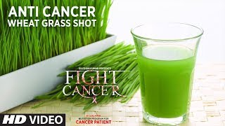 FIGHT CANCER- Wheatgrass Shot | Nutrition Plan Designed & Created by GURU MANN