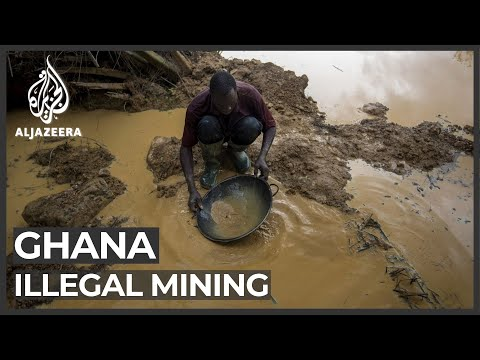 Ghana: Illegal gold mining threatens water supplies